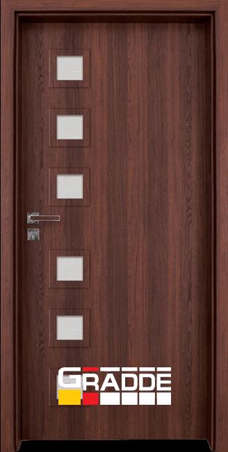Интериорна HDF врата, модел Gradde Reichsburg, Шведски дъб