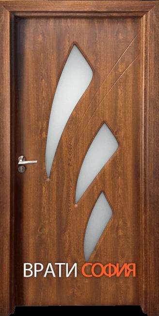 Интериорна врата Гама 202, цвят Златен дъб