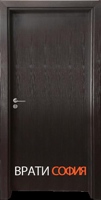 Интериорна врата Гама 210, цвят Венге